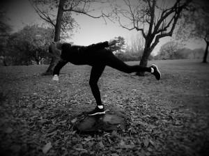 'The balancing act'